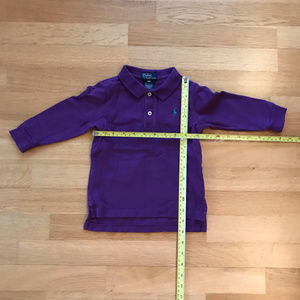 POLO By Ralp Lauren  Purple Long Sleeved